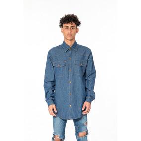 7cb96231c901e Camisas Color Jean Para Hombres - Camisas de Hombre en Mercado Libre ...