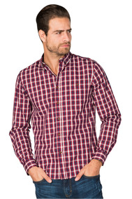 b9b53c0b27 Camisa A Cuadros Marca Arizona Flr - Camisas Manga Larga de Hombre ...