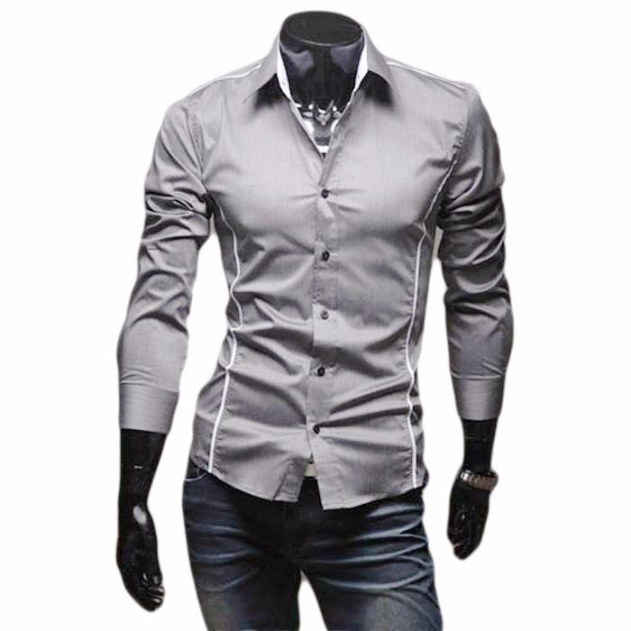 bastante baratas envío complementario vendido en todo el mundo Camisas Hombre,camisa Vestir Caballero, Slim Fit Ropa Lote 5