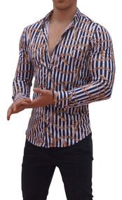 Patrón Cadenas Gratis Camisas Envío Fit John Leopard Slim EYIWDH29