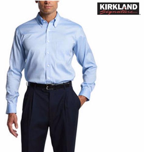 camisas kirkland signature 15.5 16 16.5 originales liquidaci