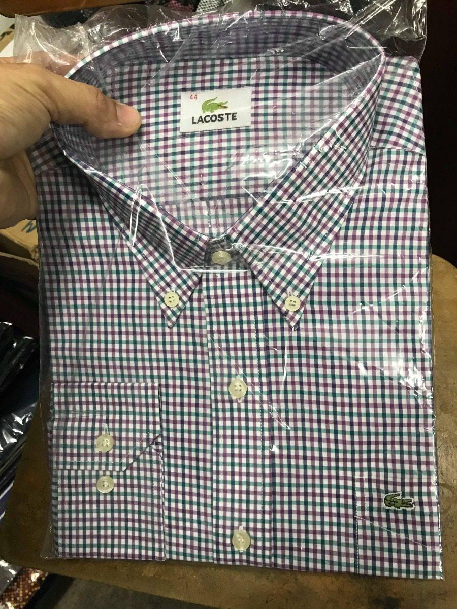a3603eb4be7 Camisas Lacoste Varios Modelos Y Colores
