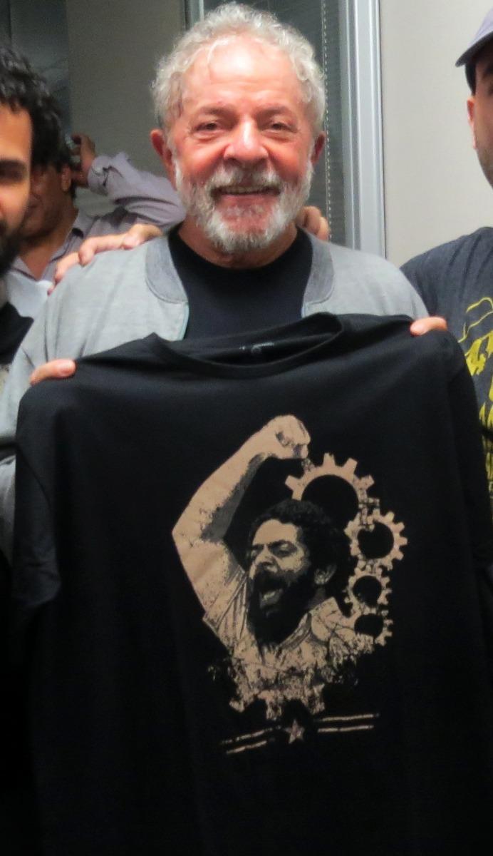 6e7b87564 camisas lula - kit com 3 camisetas - frete grátis + brinde! Carregando zoom.