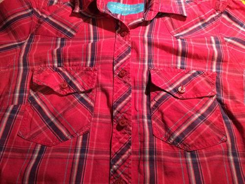 camisas manga corta mujer kevingston