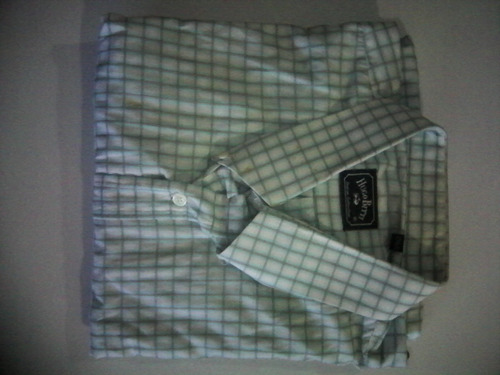 camisas manga larga 2xxl y 18,5 de diferentes marcas
