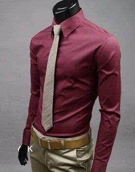 camisas manga larga camisas vestir hombre