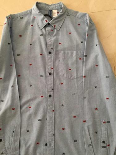 camisas manga larga, hollister,express,forever,american e,rl