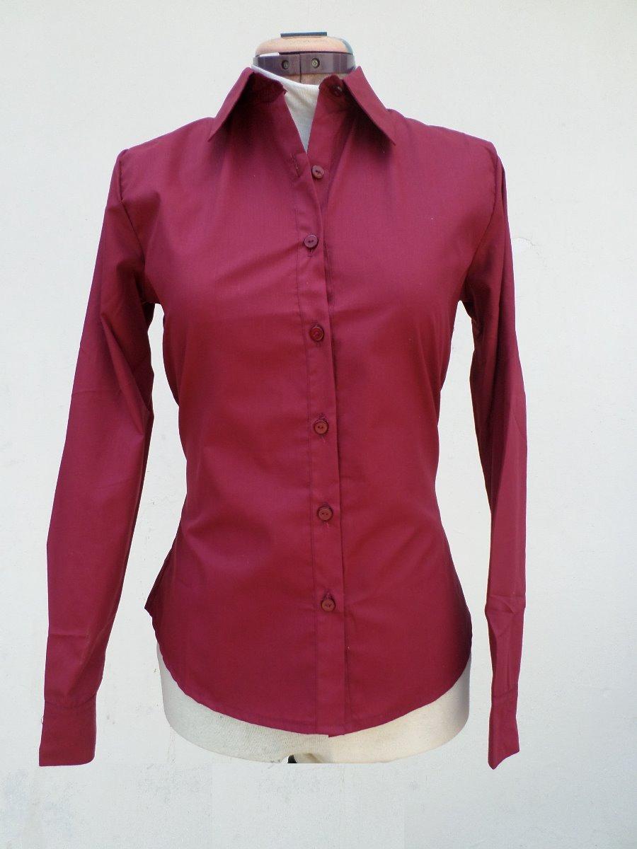 ecaa1d2615 camisas manga larga para dama. Cargando zoom.