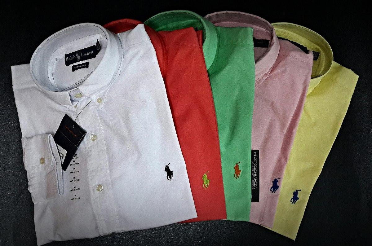 0fc0ae55ec59c Camisas Manga Larga Polo Ralph Lauren -   119.900 en Mercado Libre