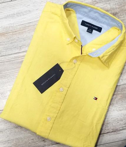 camisas manga larga tommy hilfiger 100% originales