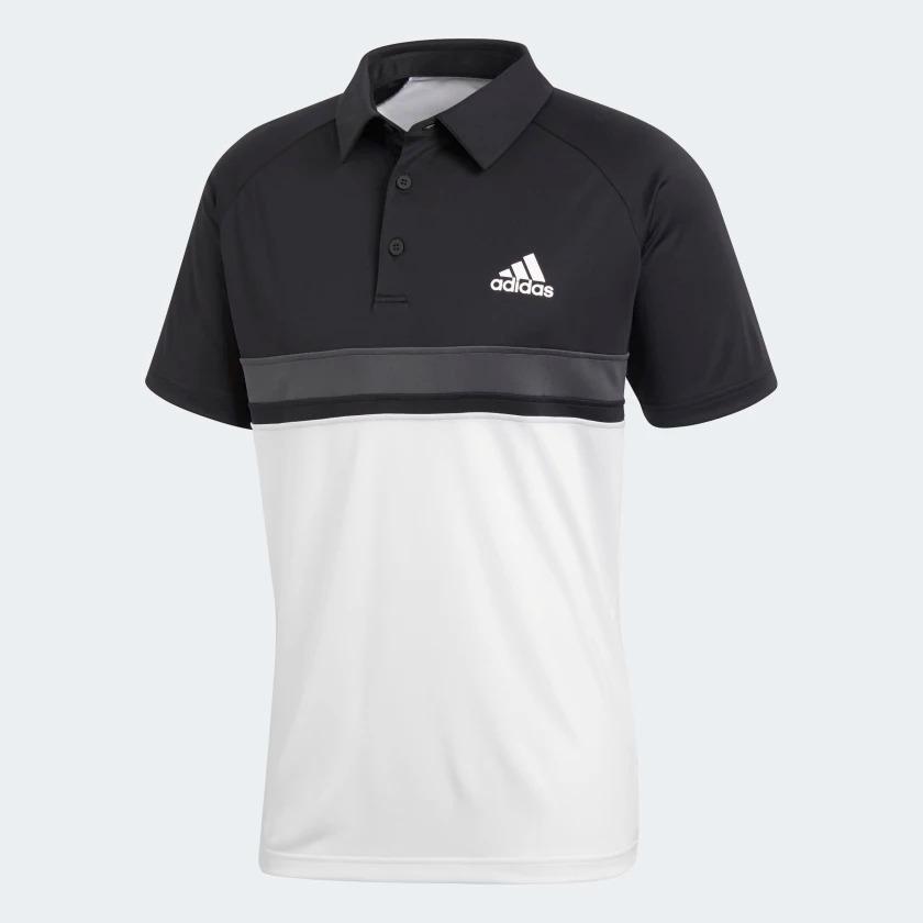 camisas masculinas adidas polo block club preta e branca. Carregando zoom. f1aa3658b17af