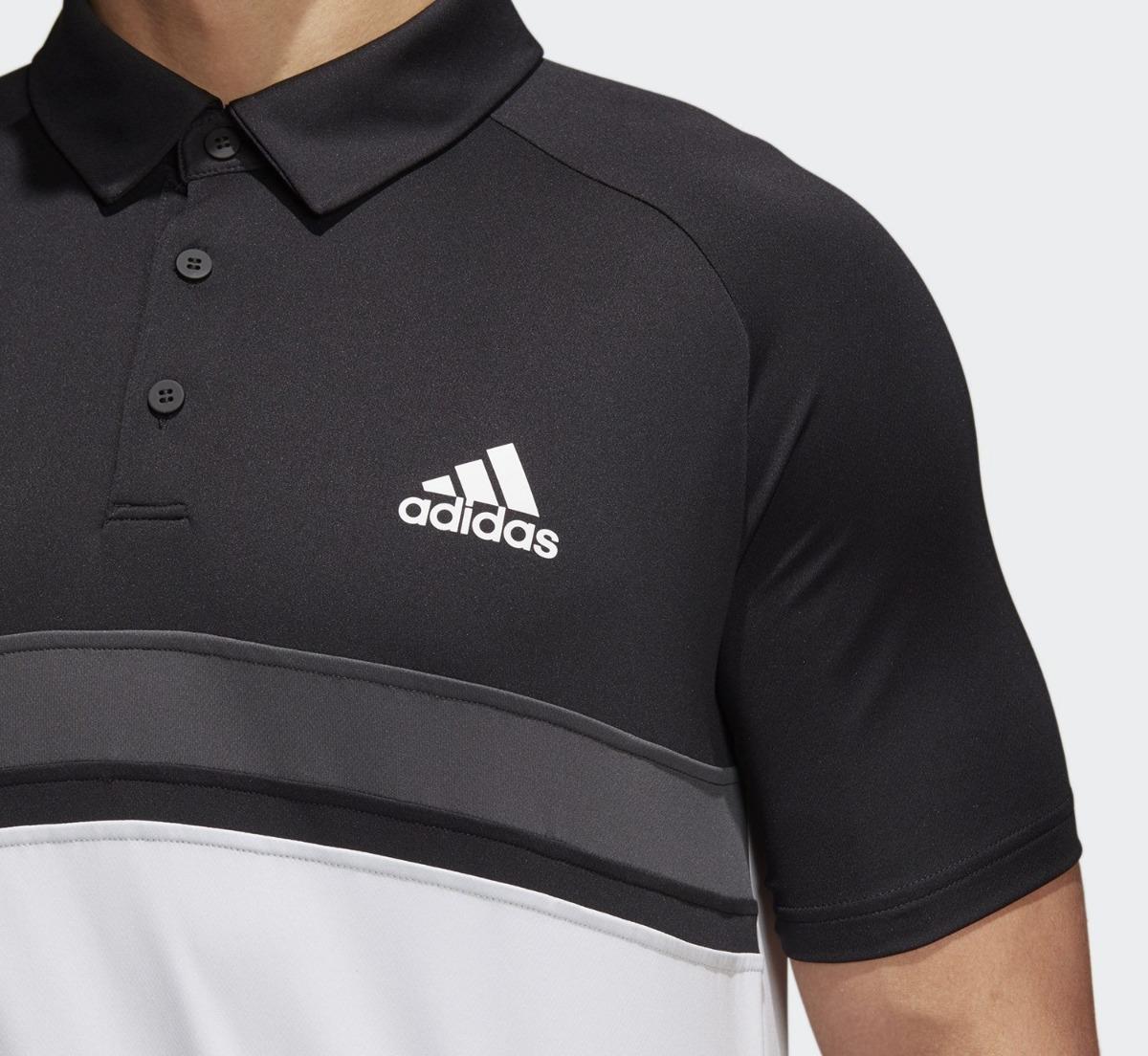 efb0dfee7 camisas masculinas adidas polo block club preta e branca. Carregando zoom.