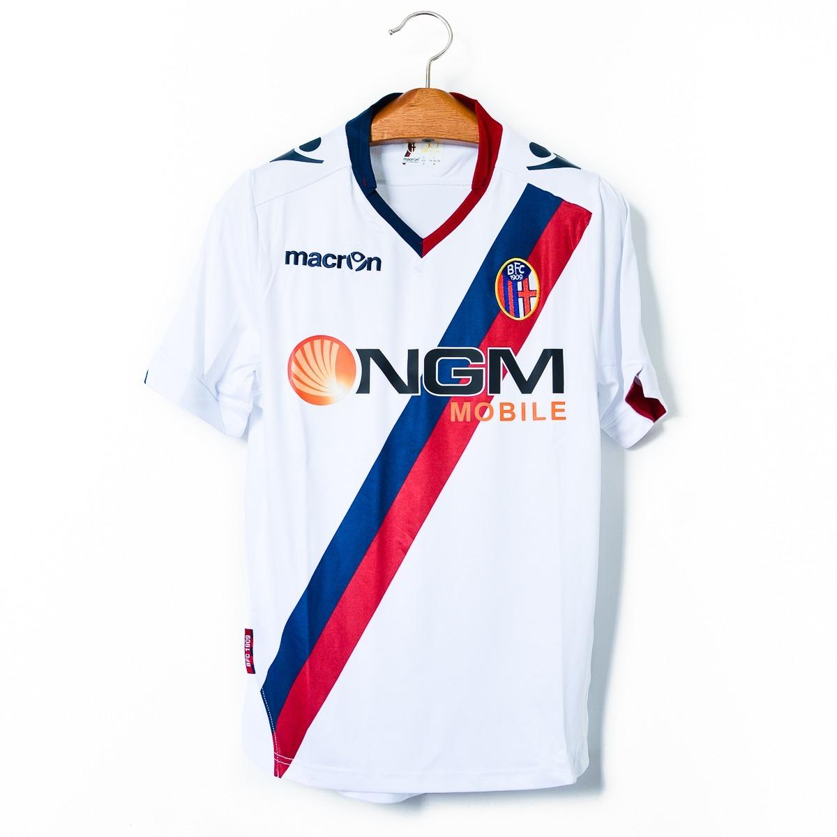 cd3f54ba81 camisas masculinas futebol bologna fc 1909 2013 14 macron. Carregando zoom.