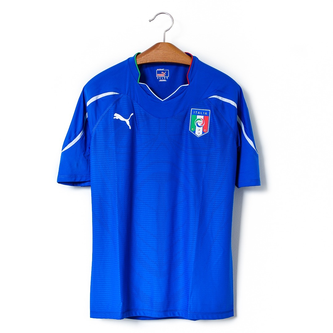 Camisas Masculinas Futebol Itália 2010 12 Puma - R  209 cc4d4861b3549