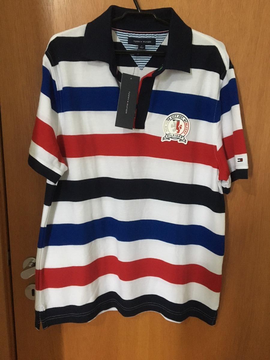 camisas masculinas polo tommy hilfiger originais. Carregando zoom. 770bc12b93e9a
