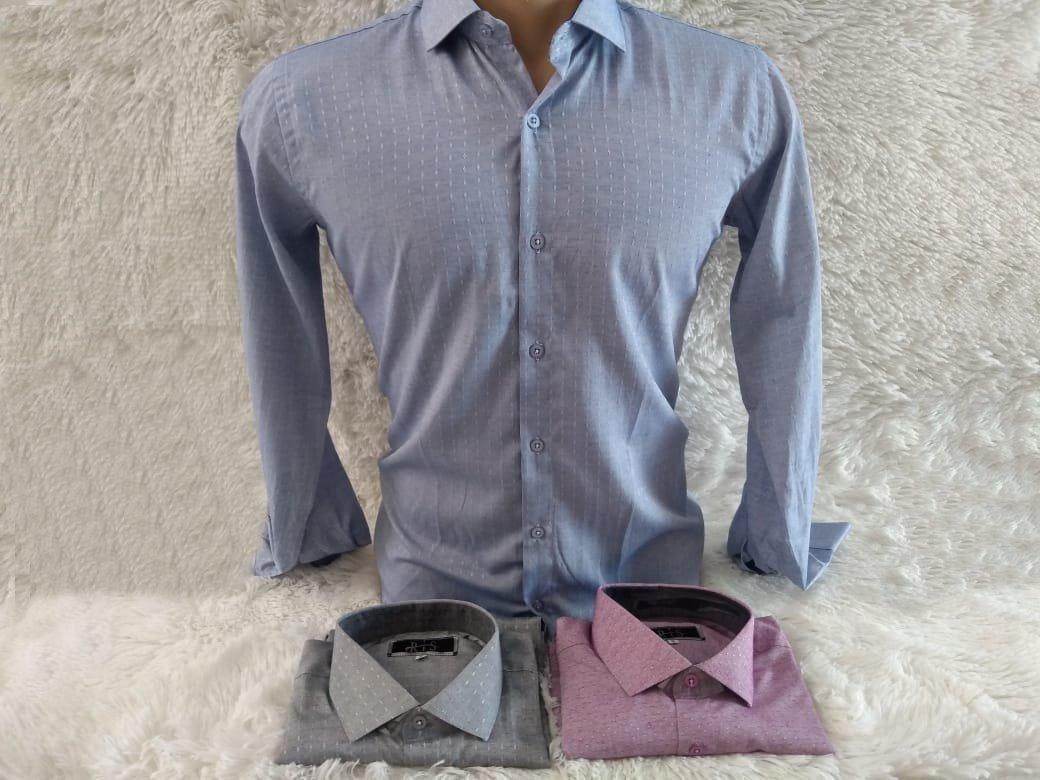 Camisas Masculinas Slim Promoçao Pra Vender Tudo Rapido - R  69 378732ba79dab