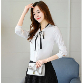 f6c81156fa0d2 Camisa Blanca Dama Elegante en Mercado Libre Colombia