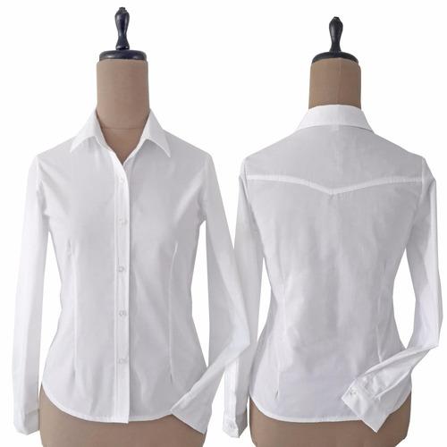 camisas mujer manga larga