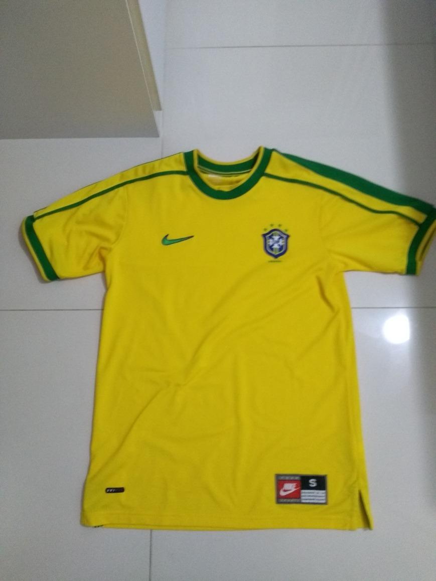 8151709990 camisas oficiais da seleção brasileira - copas 1994 até 2018. Carregando  zoom.