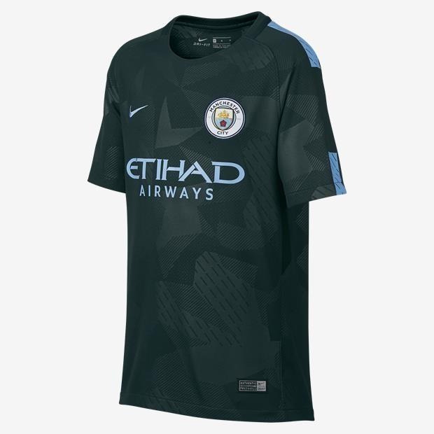 Camisas (oficial) Manchester City 2017-2018 Nike - R  95 cb3ce254addbc