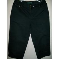 Pantalon Jean Snicker Capri Chavito, Ralph Lauren, T 26/28