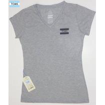 Toms Polos Damas Mujer Manga Corta Cuello V Shirt