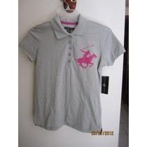 Lindo Polo De Vestir Para Dama Marca Beberly Hills Polo Club