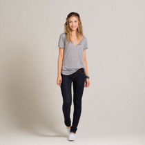 Hollister Pantalon Super Skinny Talla 5r Ryan (30)