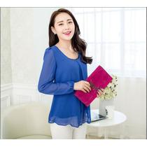 Blusa Casual Importada Moda Mujer Coreana -en Stock Avybella