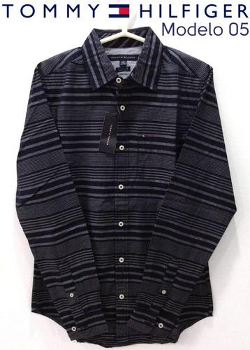 camisas para caballero tommy hilfiger original