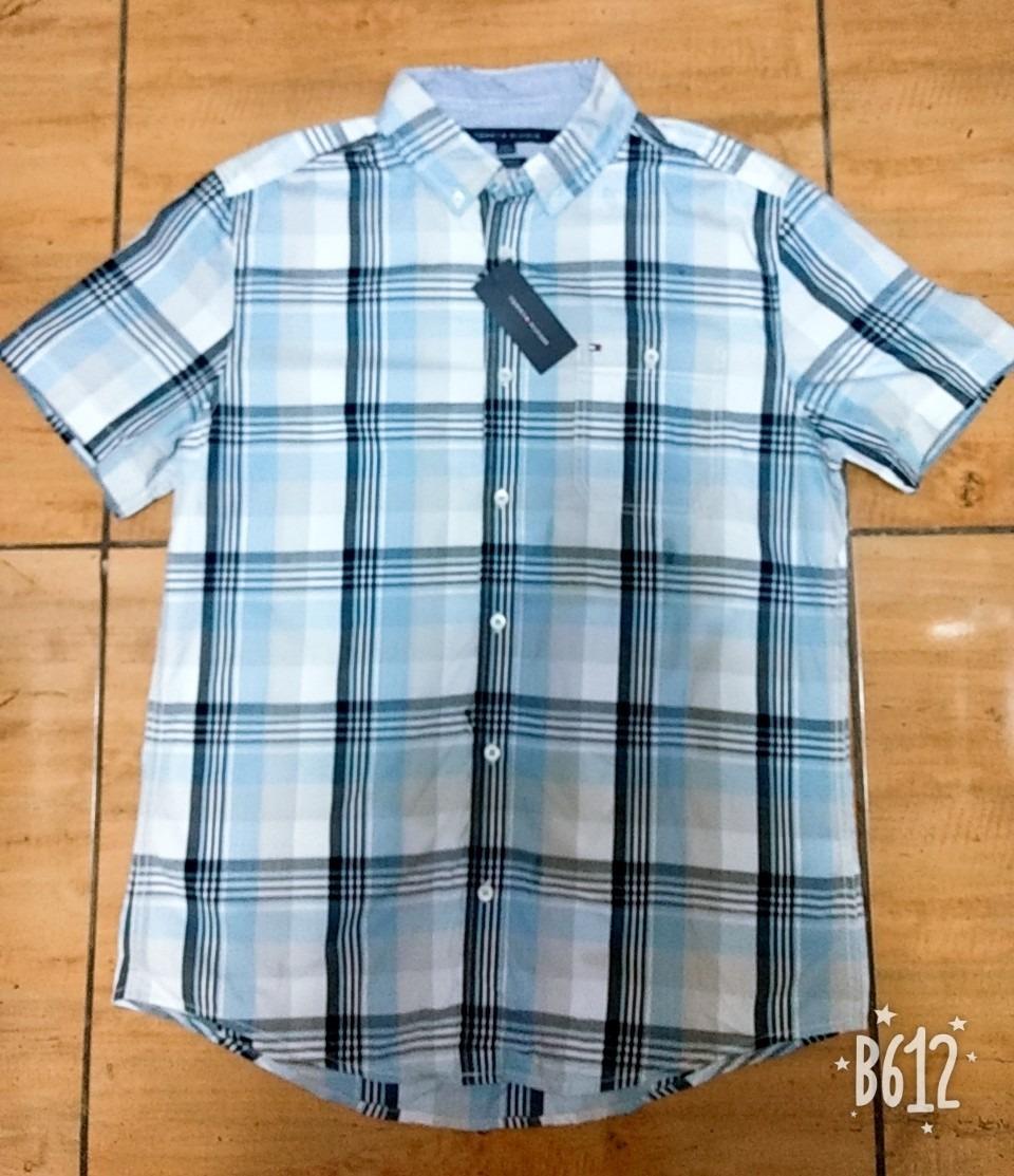 d68d90d42e8 camisas para caballero tommy hilfiger original mulberry pla. Cargando zoom.