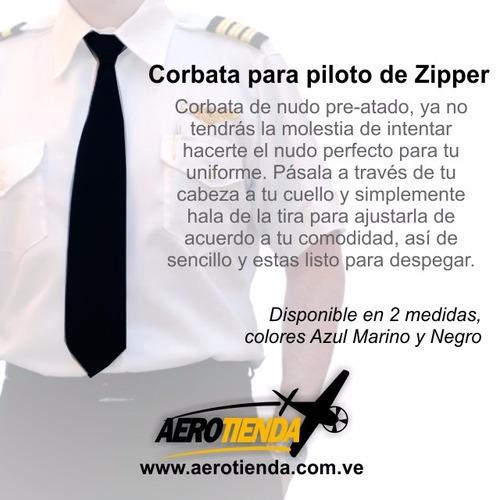 camisas para pilotos, charreteras, caponas y corbatas