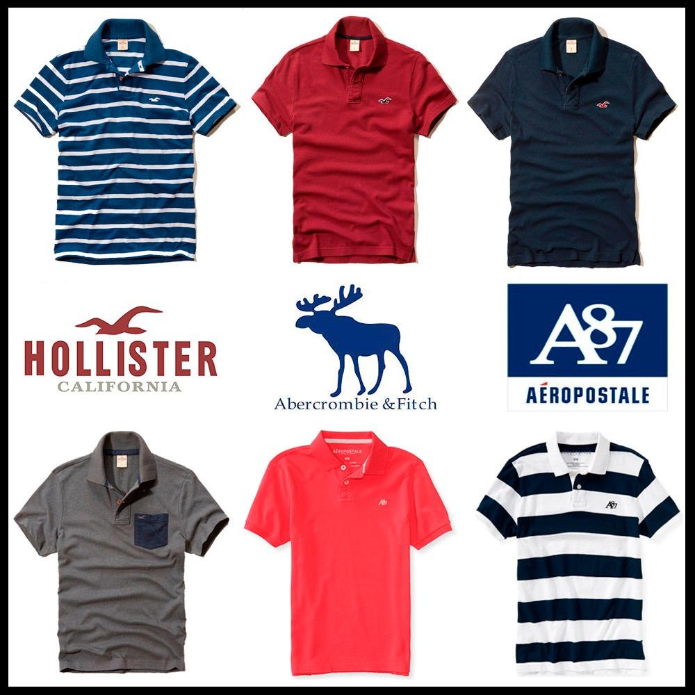 camisas polo hollister abercrombie aeropostale - importadas. Carregando  zoom. 4f74e2c6d2449