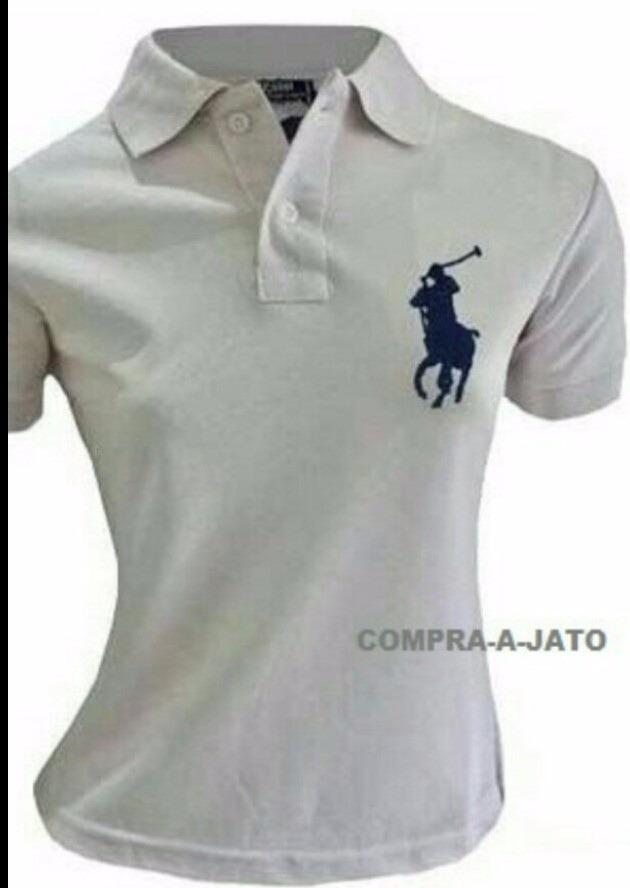 camisas polo hollister ralph lauren femininas tam. pmg gg. Carregando zoom. 3108da2df94