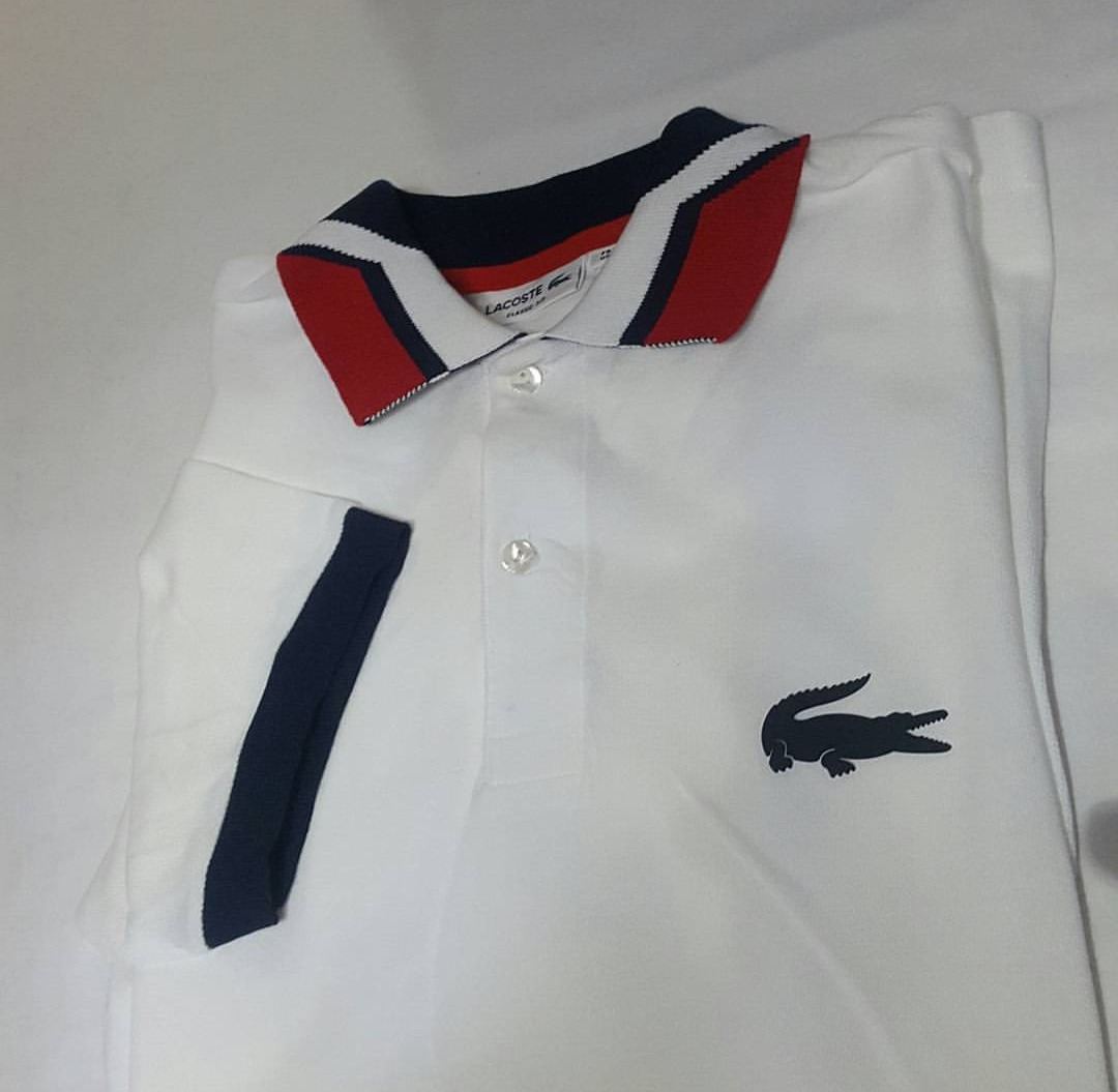 Camisas Polo Lacoste Masculinas- Escolha Os Modelos- Oferta! - R ... cedb3355ad
