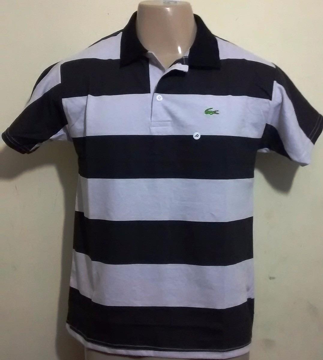 Camisas Polo Listradas Lacoste Kit Com 10 - No Atacado - R  260,00 ... 51a37b8900
