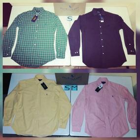 69ab7e0c64 Ralph Lauren 100% Originais Camisas Polo Dudalina - Hombre Camisas ...
