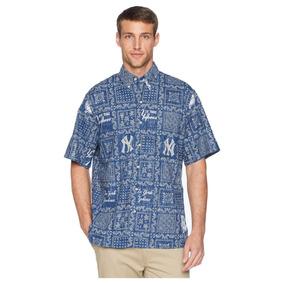97a141b14e385 Camisa Hombre Reyn Spooner New York Yankees Original Lahaina