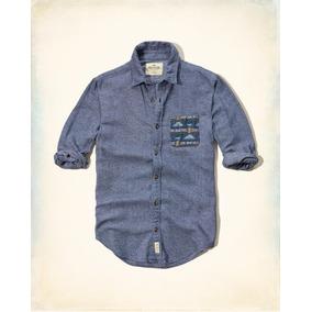 1667f5b20 Camisa Franelada Hollister Original Hombre 2017 Importado