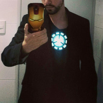 Polos Iron Man, Tony Stark, Reactor Arc Led
