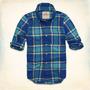 Camisa Hollister - Santa Monica - Escocés Talla M - L