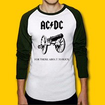 Polos Ac Dc (for Those About To Rock) Damas Caballeros Niños