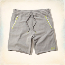 Shorts Hollister Fleece Delgado By Abercrombie & Fitch Eeuu