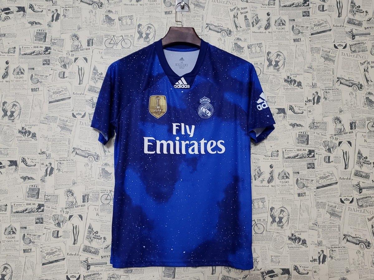 Características. Marca Adidas  Time Real Madrid  Tipo de camisa Futebol   Versão da camisa Torcedor  Temporada 2019 2020 ... d9d71da0b3651