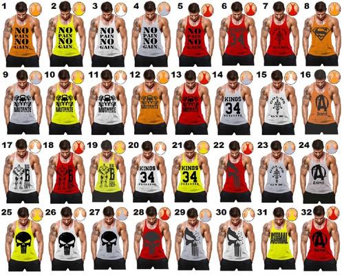 camisas regata cavada masculina musculação academia mutante