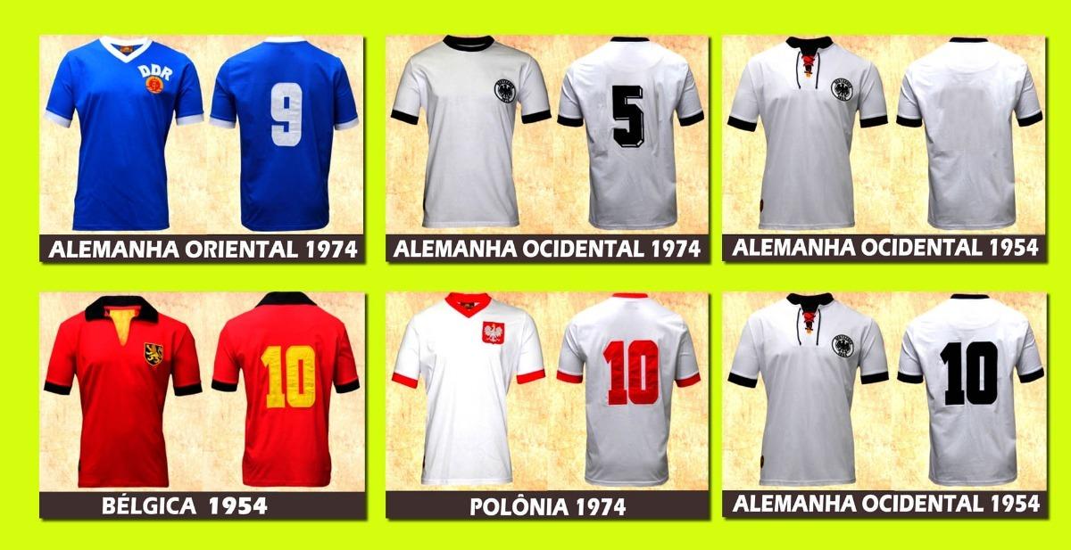 4978337c37 camisas retrô de seleções europeias. Carregando zoom.