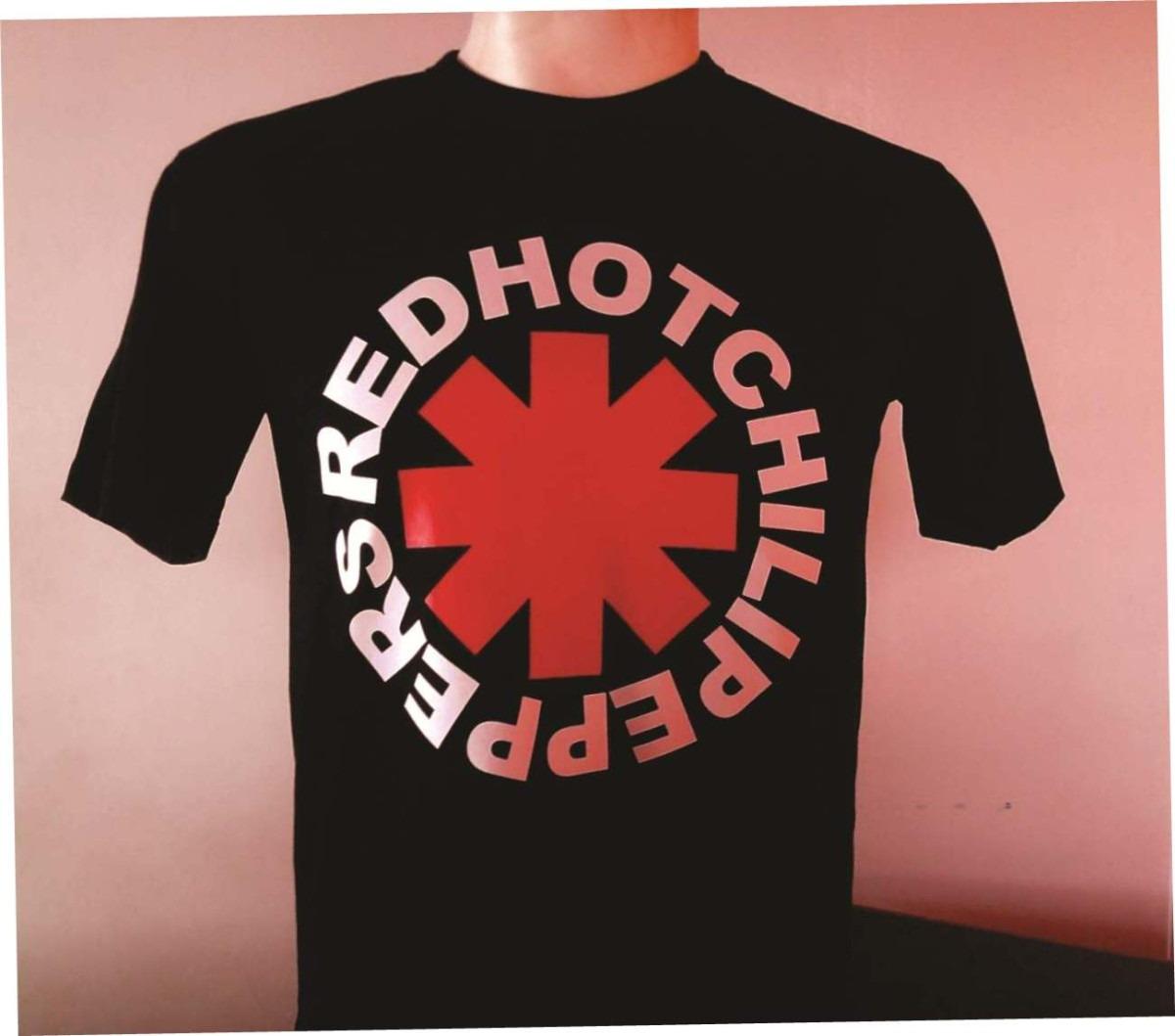 a9720873d2890 camisas rock red hot chili peppers - 100% algodão f. grátis! Carregando  zoom.