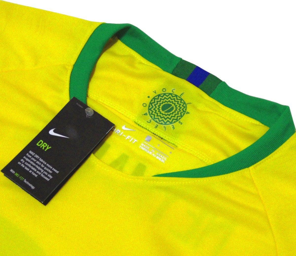 2 camisas polo passeio seleção brasileira de futebol 2018 · camisas seleção  futebol. Carregando zoom. 3a4eae7df8dfc