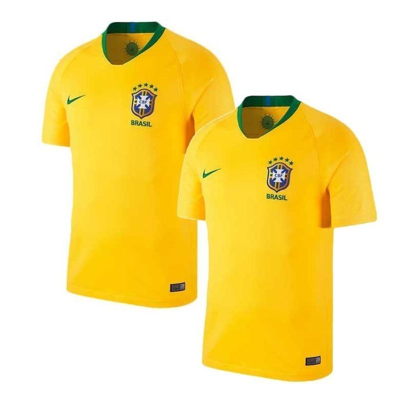 ca6124684c 2 camisas da seleção brasileira de futebol 2018 promoção 40% · camisas  seleção futebol. Carregando zoom.