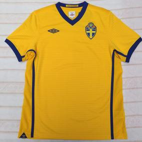 5f4e19499 Camisa Suecia - Futebol no Mercado Livre Brasil